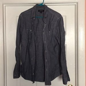 Large button down